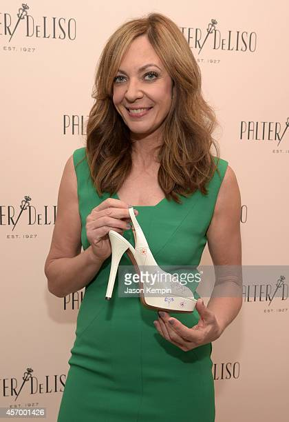 Actress Allison Janney attends the 2014 Variety Power of Women presented by Lifetime at Beverly Wilshire Four Seasons Hotel on October 10 2014 in Los...
