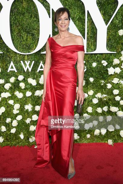 Actress Allison Janney attends the 2017 Tony Awards at Radio City Music Hall on June 11 2017 in New York City