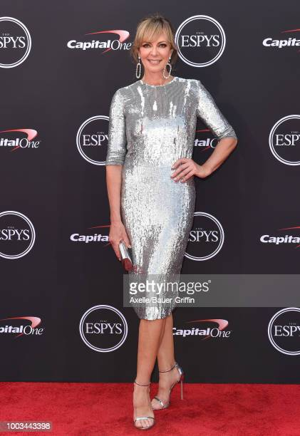 Actress Allison Janney attends The 2018 ESPYS at Microsoft Theater on July 18 2018 in Los Angeles California