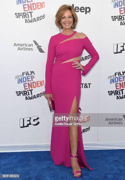 Actress Allison Janney attends the 2018 Film Independent Spirit Awards on March 3 2018 in Santa Monica California