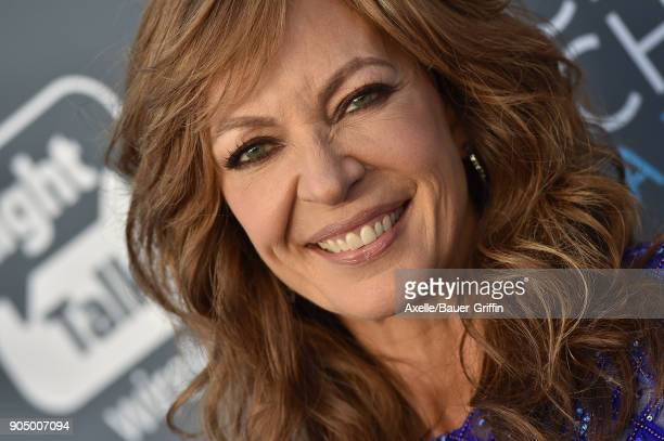 Actress Allison Janney attends the 23rd Annual Critics' Choice Awards at Barker Hangar on January 11 2018 in Santa Monica California