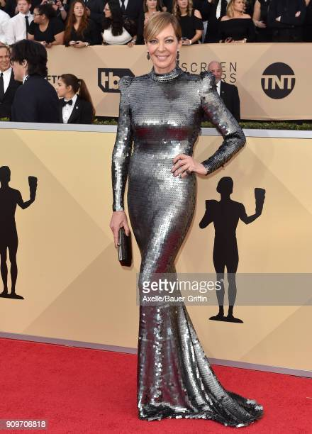 Actress Allison Janney attends the 24th Annual Screen Actors Guild Awards at The Shrine Auditorium on January 21 2018 in Los Angeles California
