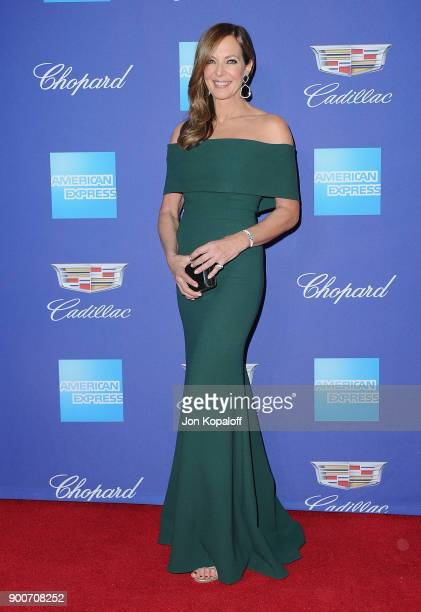 Actress Allison Janney attends the 29th Annual Palm Springs International Film Festival Awards Gala at Palm Springs Convention Center on January 2...