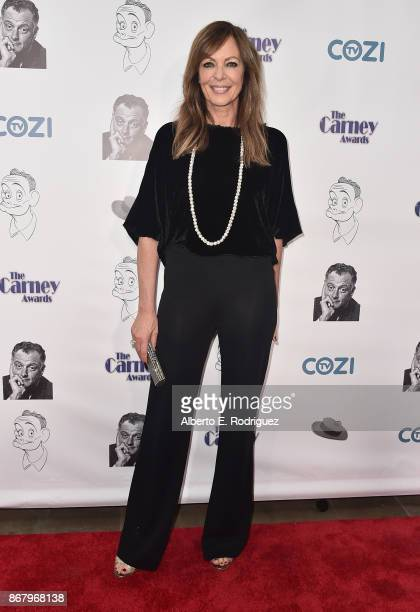 Actress Allison Janney attends the 3rd Annual Carney Awards at The Broad Stage on October 29 2017 in Santa Monica California