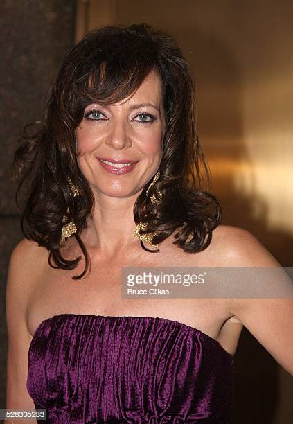 Actress Allison Janney attends the 63rd Annual Tony Awards at Radio City Music Hall on June 7 2009 in New York City