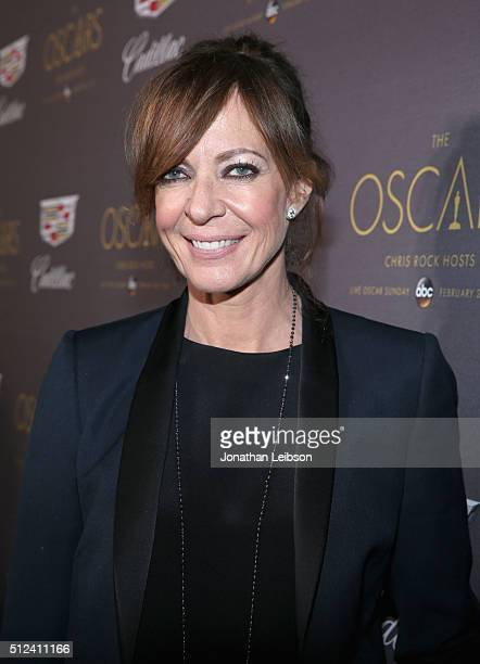 Actress Allison Janney attends the Cadillac Oscar Week Celebration at Chateau Marmont on February 25 2016 in Los Angeles California