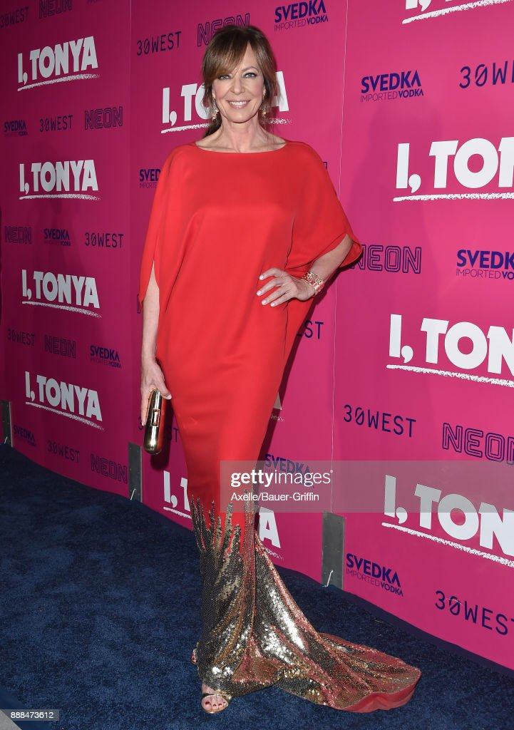Actress Allison Janney attends the Los Angeles premiere of 'I, Tonya' at the Egyptian Theatre on December 5, 2017 in Hollywood, California.