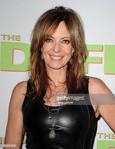 Actress Allison Janney attends the premiere of The Duff at TCL Chinese 6 Theatres on February 12 2015 in Hollywood California