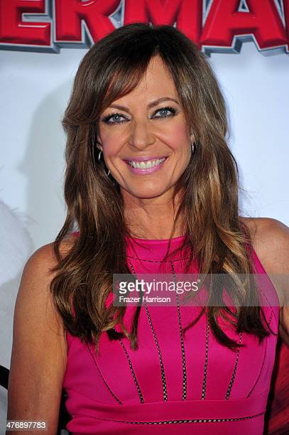 Actress Allison Janney attends the premiere of Twentieth Century Fox and DreamWorks Animation's Mr Peabody Sherman at Regency Village Theatre on...