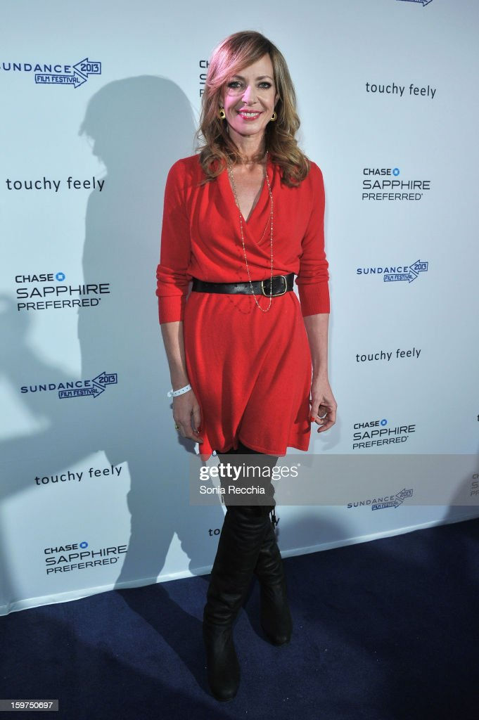 Actress Allison Janney attends the Premiere Party presented by Chase Sapphire at The Shop during the 2013 Sundance Film Festival on January 19, 2013 in Park City, Utah.