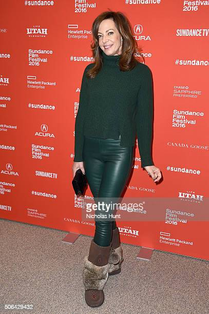 Actress Allison Janney attends the 'Tallulah' Premiere during the 2016 Sundance Film Festival at Eccles Center Theatre on January 23 2016 in Park...