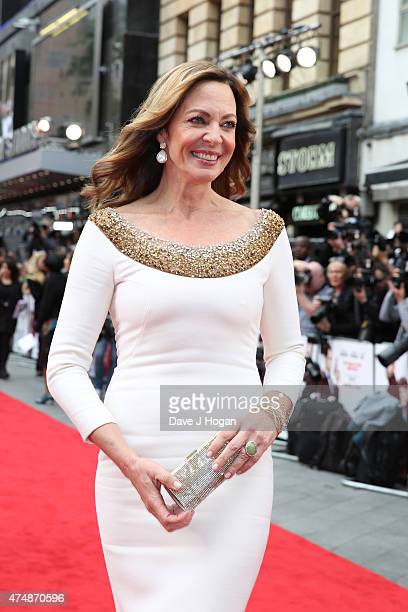 Actress Allison Janney attends the UK Premiere of 'Spy' at Odeon Leicester Square on May 27 2015 in London England