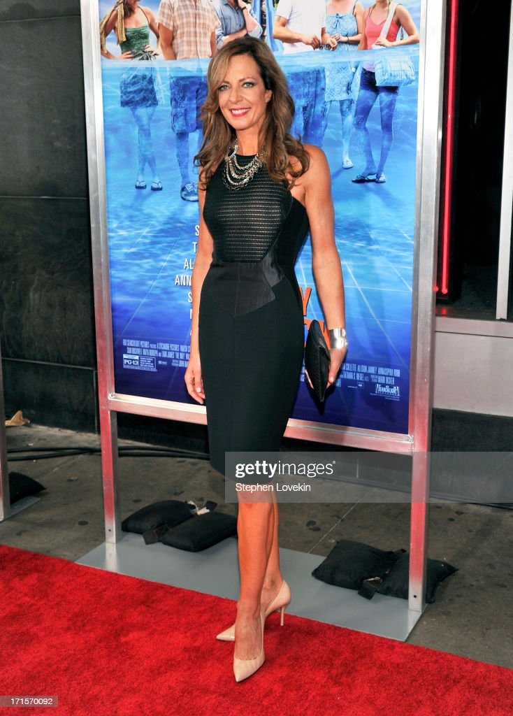 Actress Allison Janney attends 'The Way, Way Back ' New York Premiere at AMC Loews Lincoln Square on June 26, 2013 in New York City.