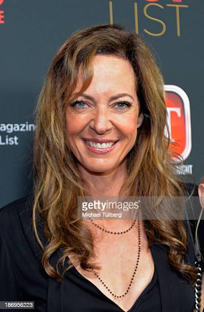 Actress Allison Janney attends TV Guide Magazine's Annual Hot List Party at The Emerson Theatre on November 4 2013 in Hollywood California