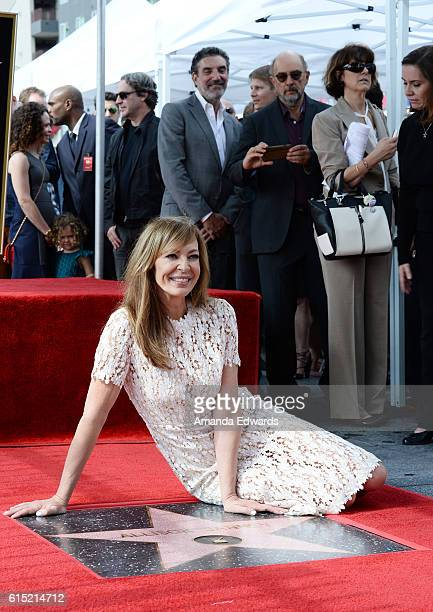 Actress Allison Janney is honored with a Star on The Hollywood Walk of Fame on October 17 2016 in Hollywood California