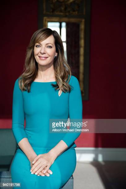 Actress Allison Janney is photographed for New York Times on November 16 2017 in New York City