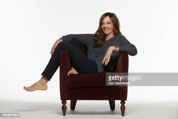 Actress Allison Janney is photographed for USA Today on December 9 2013 in Studio City California