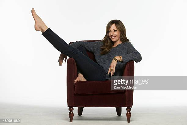 Actress Allison Janney is photographed for USA Today on December 9 2013 in Studio City California PUBLISHED IMAGE