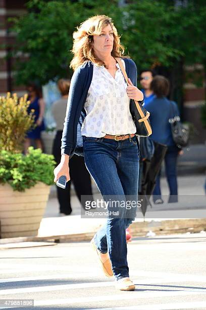 Actress Allison Janney is seen on the set of Tallulahon June 29 2015 in New York City