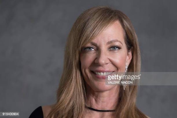 Actress Allison Janney poses for a portrait during the Academy Awards annual nominees luncheon for the 90th Oscars at the Beverly Hilton California...
