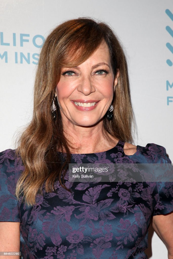 Actress Allison Janney poses for photos on the red carpet for a premiere of 'I, Tonya' at the Christopher B. Smith Rafael Film Center on December 2, 2017 in San Rafael, California.