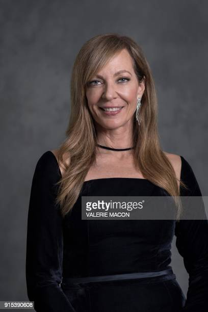 Actress Allison Janney poses for portraits during the Academy Awards annual nominees luncheon for the 90th Oscars at the Beverly Hilton California on...