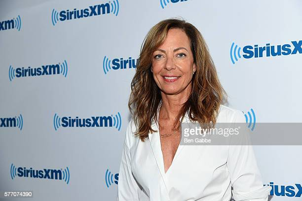 Actress Allison Janney visits at SiriusXM Studios on July 18 2016 in New York City