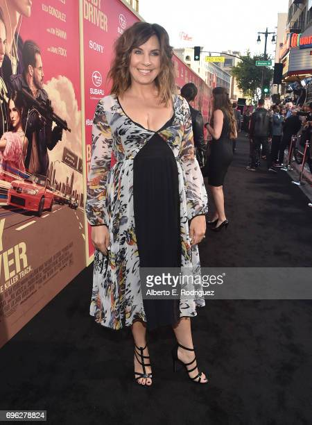 Actress Allison King attends the premiere of Sony Pictures' 'Baby Driver' at Ace Hotel on June 14 2017 in Los Angeles California