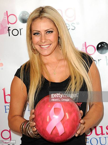 Actress Allison Kyler participates in Busted Foundation's 'Bowling For Boobies' 9th Annual Breast Cancer Fundraiser Charity Event held at Jillians...