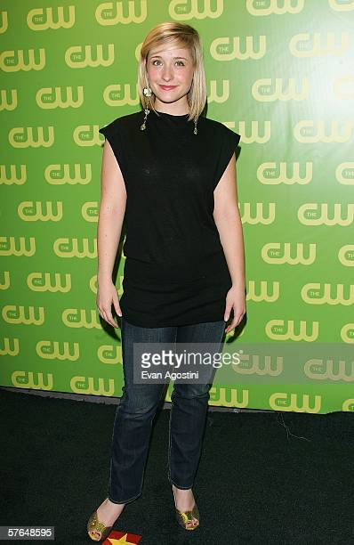 Actress Allison Mack attends the CW Television Network Upfront at Madison Square Garden May 18 2006 in New York City