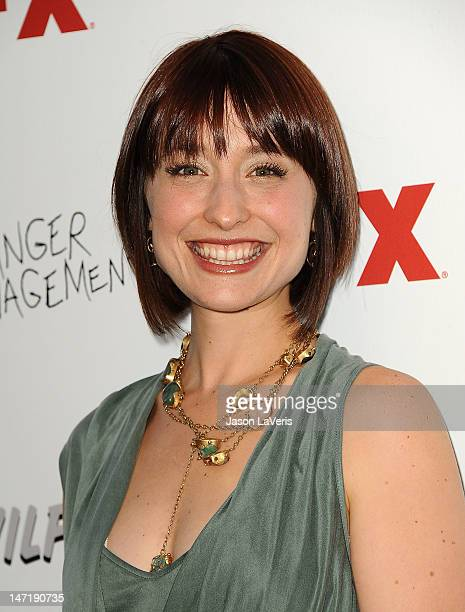 Actress Allison Mack attends the FX summer comedies party at Lure on June 26 2012 in Hollywood California