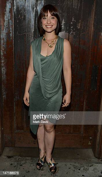 Actress Allison Mack attends the FX Summer Comedies Party held at Lure on June 26 2012 in Hollywood California
