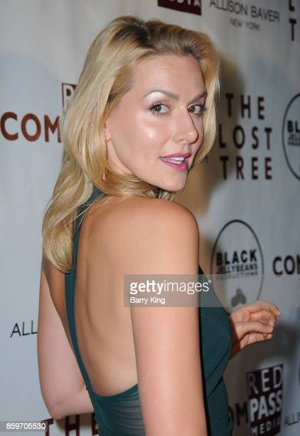 Actress Allison McAtee attends 'The Lost Tree' screening at TCL Chinese 6 Theatres on October 9 2017 in Hollywood California