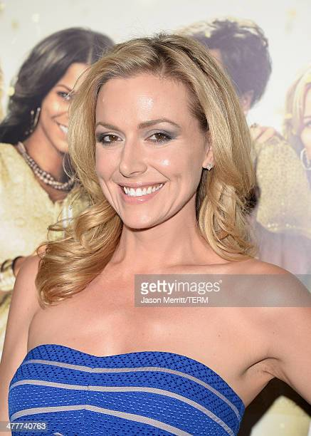 Actress Allison McAtee attends the premiere Of Tyler Perry's The Single Moms Club at ArcLight Cinemas Cinerama Dome on March 10 2014 in Hollywood...