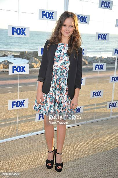 Actress Allison Miller arrives at the Fox All Star Party 2011 held at Gladstone's Restaurant in Pacific Palisades