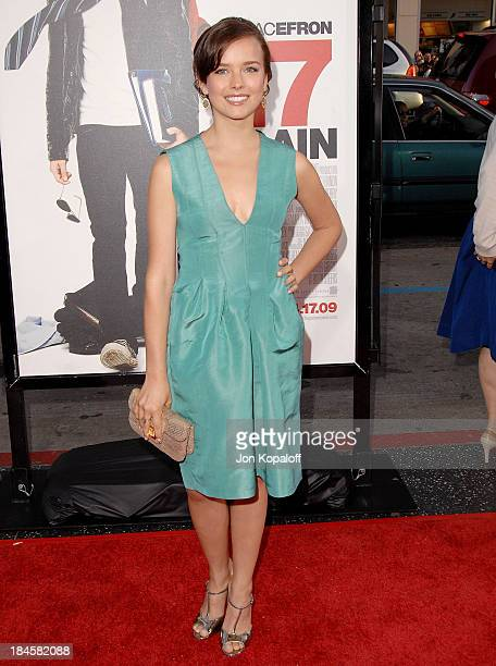 Actress Allison Miller arrives at the Los Angeles Premiere '17 Again' at Grauman's Chinese Theatre on April 14 2009 in Hollywood California