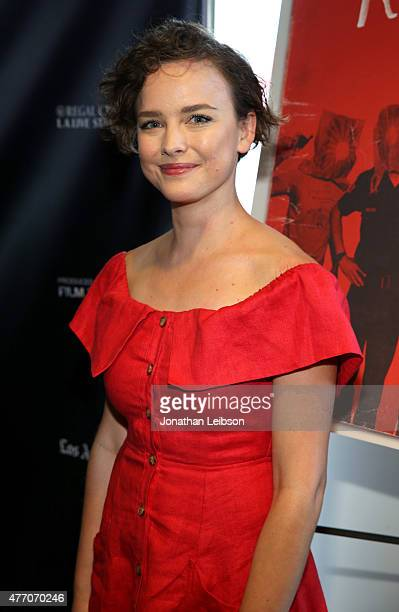 Actress Allison Miller attends the 'Band of Robbers' and 'Roy Kafri Mayokero' screenings during the 2015 Los Angeles Film Festival at Regal Cinemas...