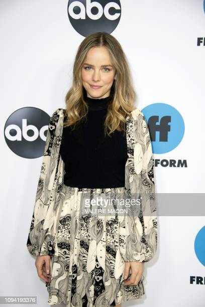 Actress Allison Miller attends the Disney ABC Television TCA Winter Press Tour in Pasadena California on February 5 2019