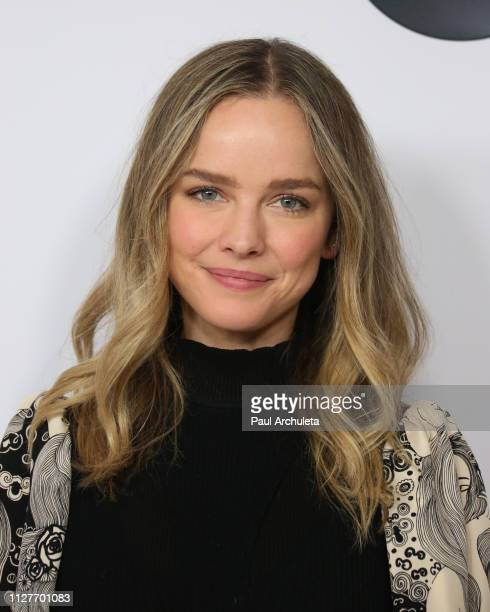 Actress Allison Miller attends the Disney and ABC Television 2019 TCA Winter press tour at The Langham Huntington Hotel and Spa on February 05 2019...