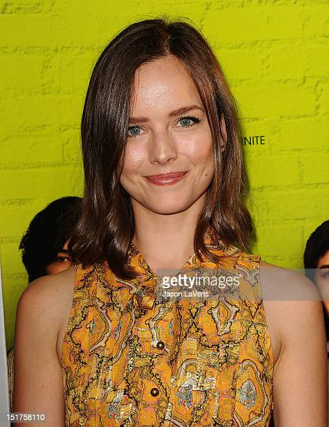 Actress Allison Miller attends the premiere of 'The Perks of Being a Wallflower' at ArcLight Cinemas on September 10 2012 in Hollywood California