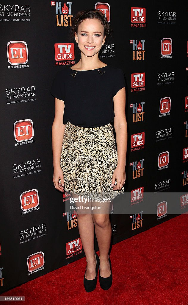 Actress Allison Miller attends TV Guide Magazine's 2012 Hot List Party at SkyBar at the Mondrian Los Angeles on November 12, 2012 in West Hollywood, California.
