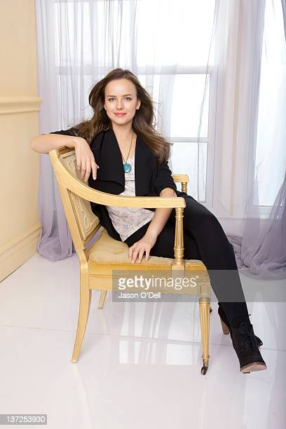 Actress Allison Miller is photographed for TV Guide Magazine in Los Angeles California