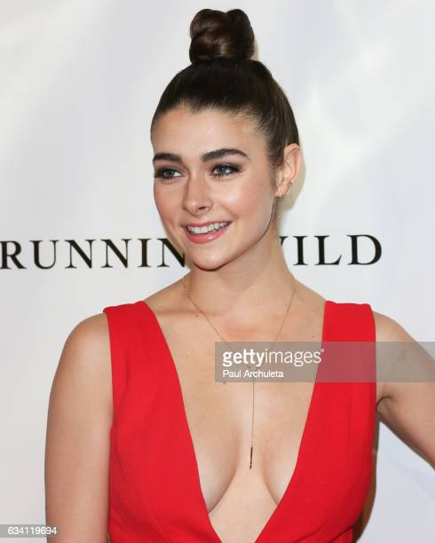 Actress Allison Paige attends the premiere of 'Running Wild' at TCL Chinese Theatre on February 6 2017 in Hollywood California