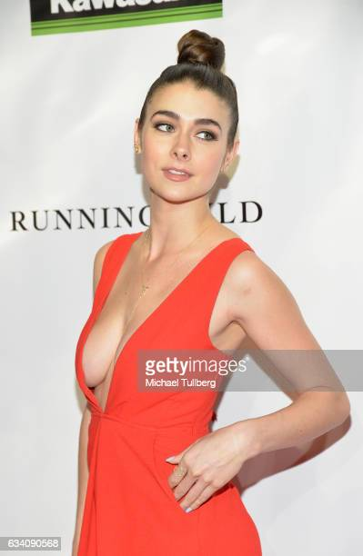 Actress Allison Paige attends the premiere of Sony Pictures Home Entertainment's 'Running Wild' at TCL Chinese Theatre on February 6 2017 in...