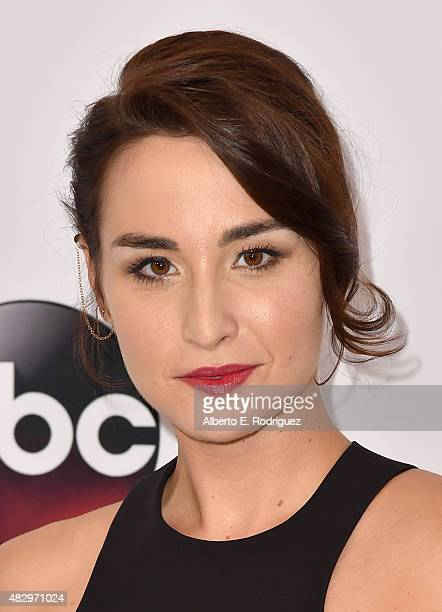 Actress Allison Scagliotti attends Disney ABC Television Group's 2015 TCA Summer Press Tour at the Beverly Hilton Hotel on August 4 2015 in Beverly...