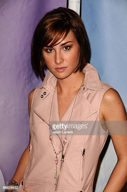 Actress Allison Scagliotti attends NBC and Universal's 2009 TCA press tour allstar party at The Langham Resort on August 5 2009 in Pasadena California