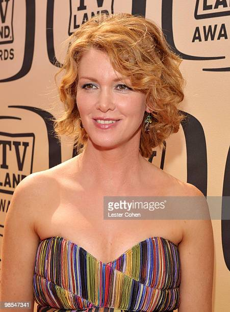 Actress Allison Smith arrives at the 8th Annual TV Land Awards at Sony Studios on April 17 2010 in Los Angeles California
