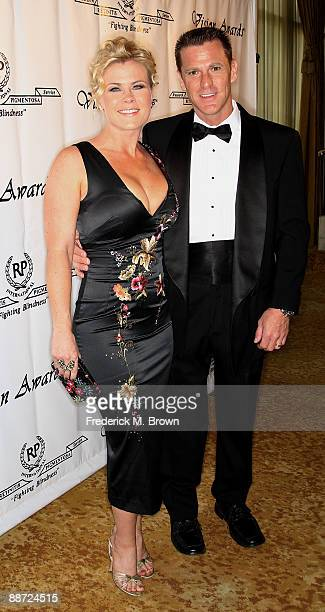Actress Allison Sweeney and her husband David Sanov attend the 36th annual Vision Awards at the Beverly Wilshire Hotel on June 27 2009 in Beverly...