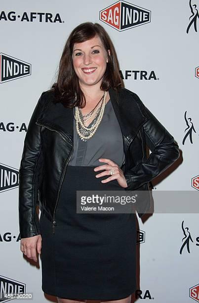 Actress Allison Tolman arrives at SAGAFTRA And SAGindie AFI FEST 2014 Presented By Audi Reception Celebrating Independent Film at Hollywood Roosevelt...