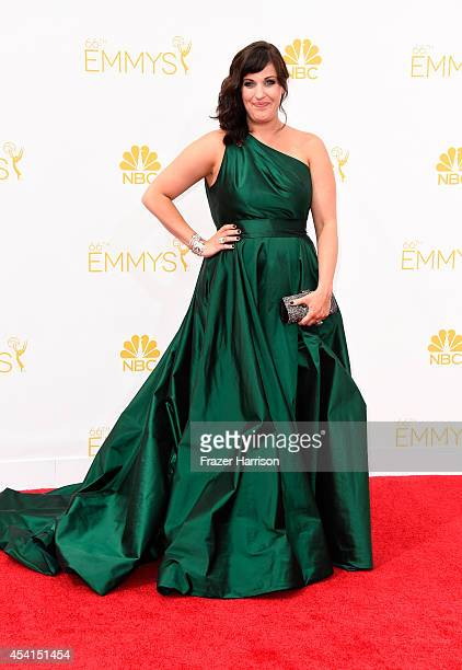 Actress Allison Tolman attends the 66th Annual Primetime Emmy Awards held at Nokia Theatre LA Live on August 25 2014 in Los Angeles California